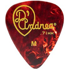 D'Andrea 351 Vintage Celluloid Guitar Picks One Dozen