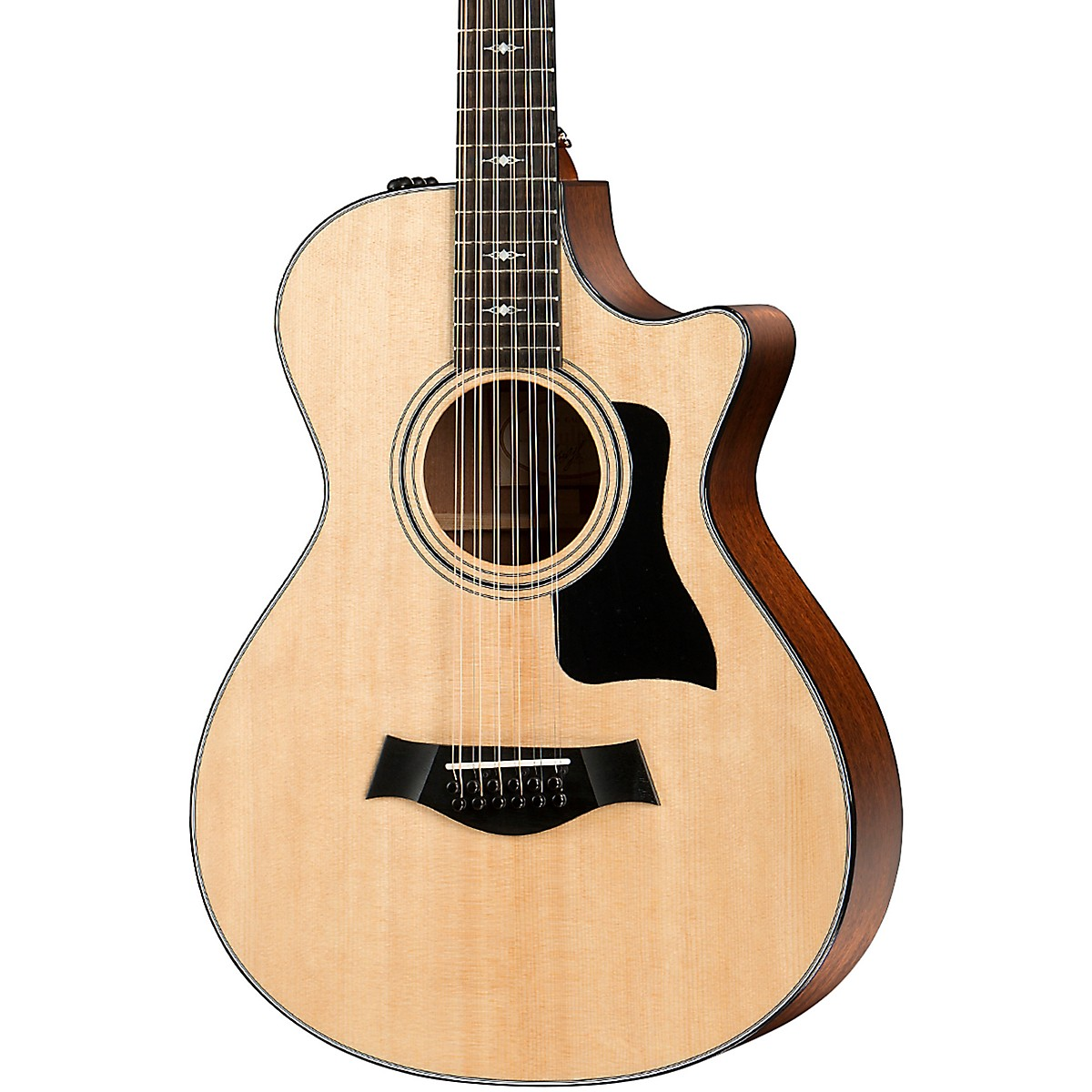Taylor 352ce Grand Concert 12-Fret 12-String Acoustic-Electric Guitar