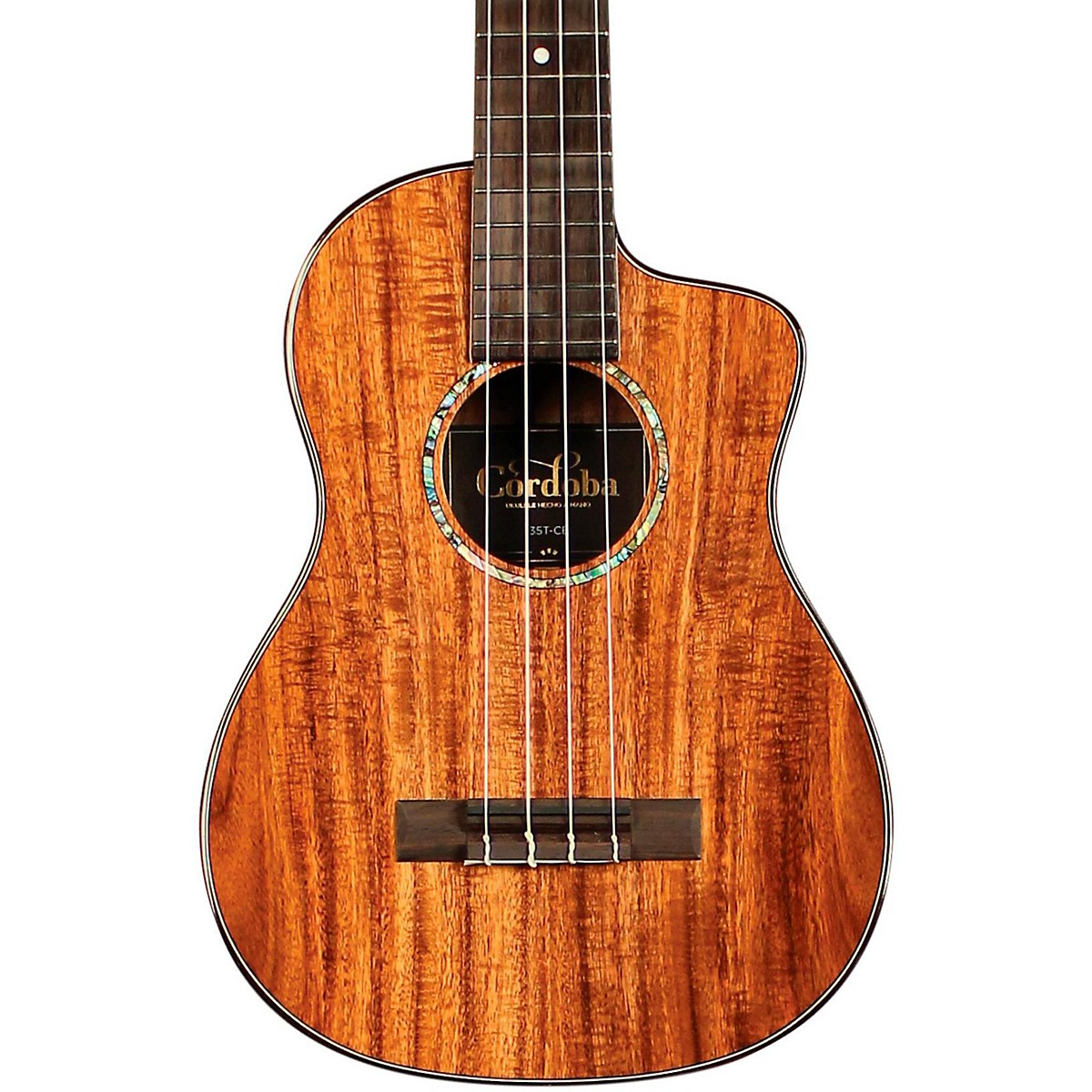 Cordoba 35T-CE Tenor Acoustic-Electric Ukulele