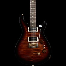 35th Anniversary Custom 24 with 10-Top and Pattern Regular Neck Electric Guitar Black Gold Burst