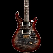 35th Anniversary Custom 24 with 10-Top and Pattern Regular Neck Electric Guitar Charcoal Cherry Burst