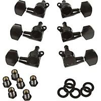 Gotoh Mlb3-G 3-On-A-Side Locking Tuners 6-Pack Black