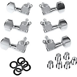 Gotoh Mlb3-G 3-On-A-Side Locking Tuners 6-Pack Chrome