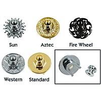 Q Parts Metal Series Straplock Black Fire Wheel