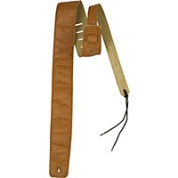 Rock Steady Rsle01 Embossed Leather Guitar Strap Brown