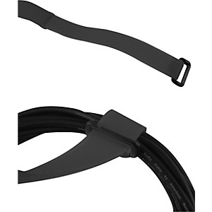 American Recorder Technologies Regrip Reusable Cable Strap 6-Pack 8 In C In. Style Black