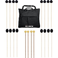 Vic Firth Keyboard Mallet 10-Pack W/ Free Mallet Bag M183(4), M188(4)