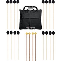 Vic Firth Keyboard Mallet 10-Pack W/ Free Mallet Bag M183(4), M187(4) ,M134(2)