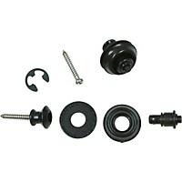 Dunlop Dual-Design Straplok System Black