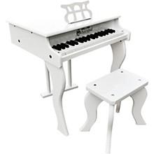 37-Key Elite Baby Grand Toy Piano White
