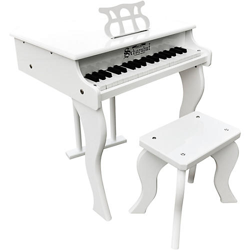 Schoenhut 37 key elite baby grand toy piano guitar center for Smallest baby grand piano dimensions