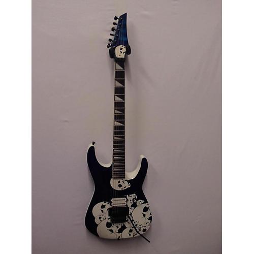 Custom Shop Parts 3D Skull Solid Body Electric Guitar