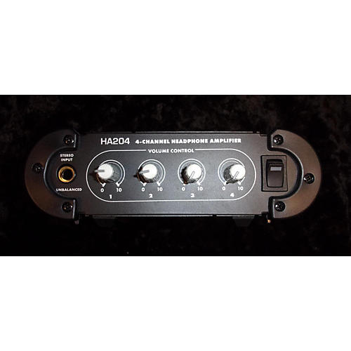 Live Wire Solutions 4-Channel Headphone Amp Headphone Amp