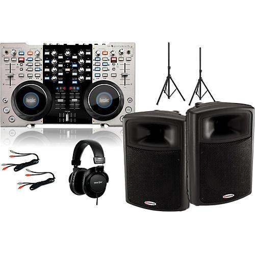 Hercules DJ 4-Mx / Harbinger APS15 DJ Package