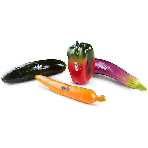 Nino 4-Piece Botany Shaker Vegetable Assortment