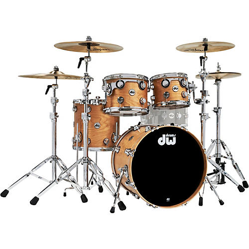 DW 4-Piece Collectors Series Cherry Shell Pack with Chrome Hardware