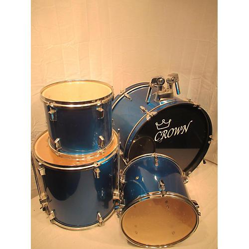 used crown 4 piece drum set drum kit guitar center. Black Bedroom Furniture Sets. Home Design Ideas