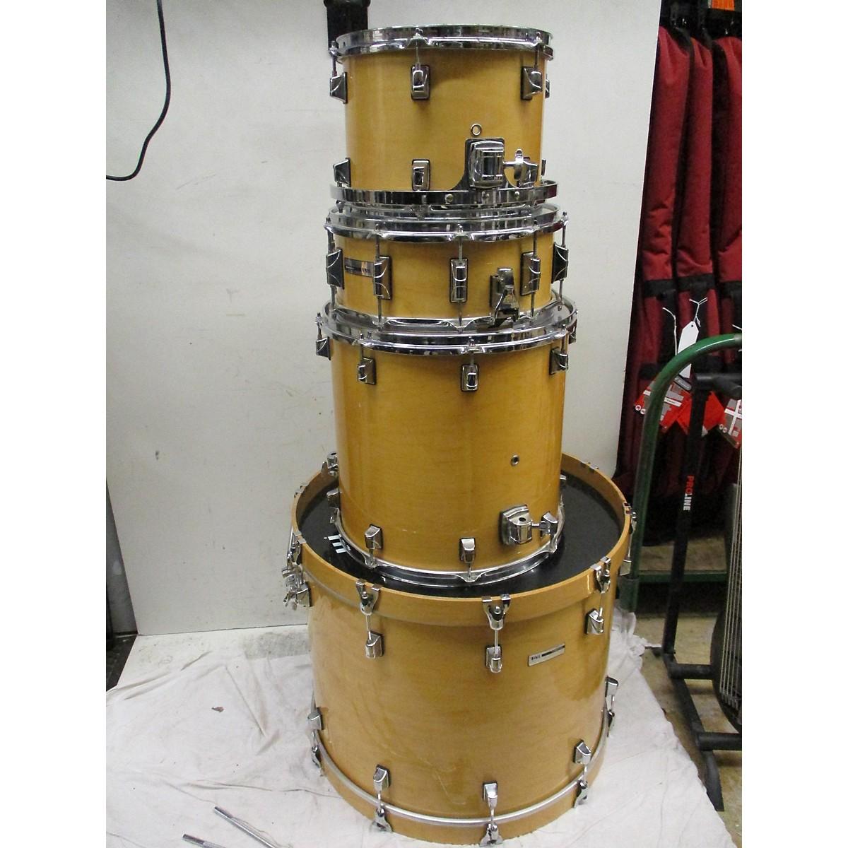 Taye Drums 4 Piece Studio Maple Natural Drum Kit