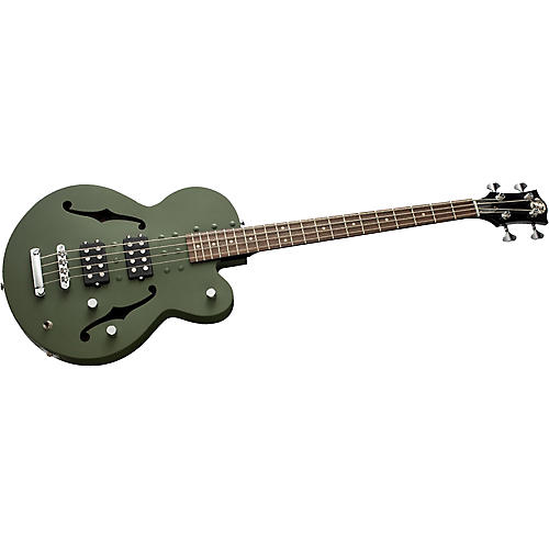 Normandy 4-String Archtop Electric Bass Guitar