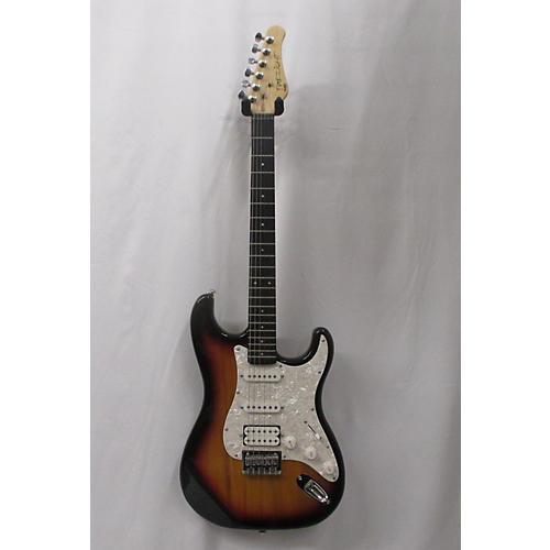 used fretlight 400 series solid body electric guitar guitar center. Black Bedroom Furniture Sets. Home Design Ideas