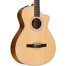 Taylor 400 Series 412ce-N Grand Concert Nylon String Acoustic-Electric Guitar