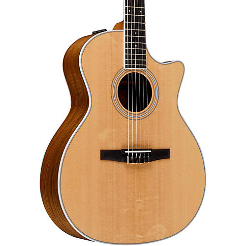 Taylor 400 Series 414ce-N Grand Auditorium Nylon String Acoustic-Electric Guitar