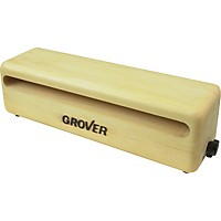 Grover Pro Rock Maple Wood Block  10 In.