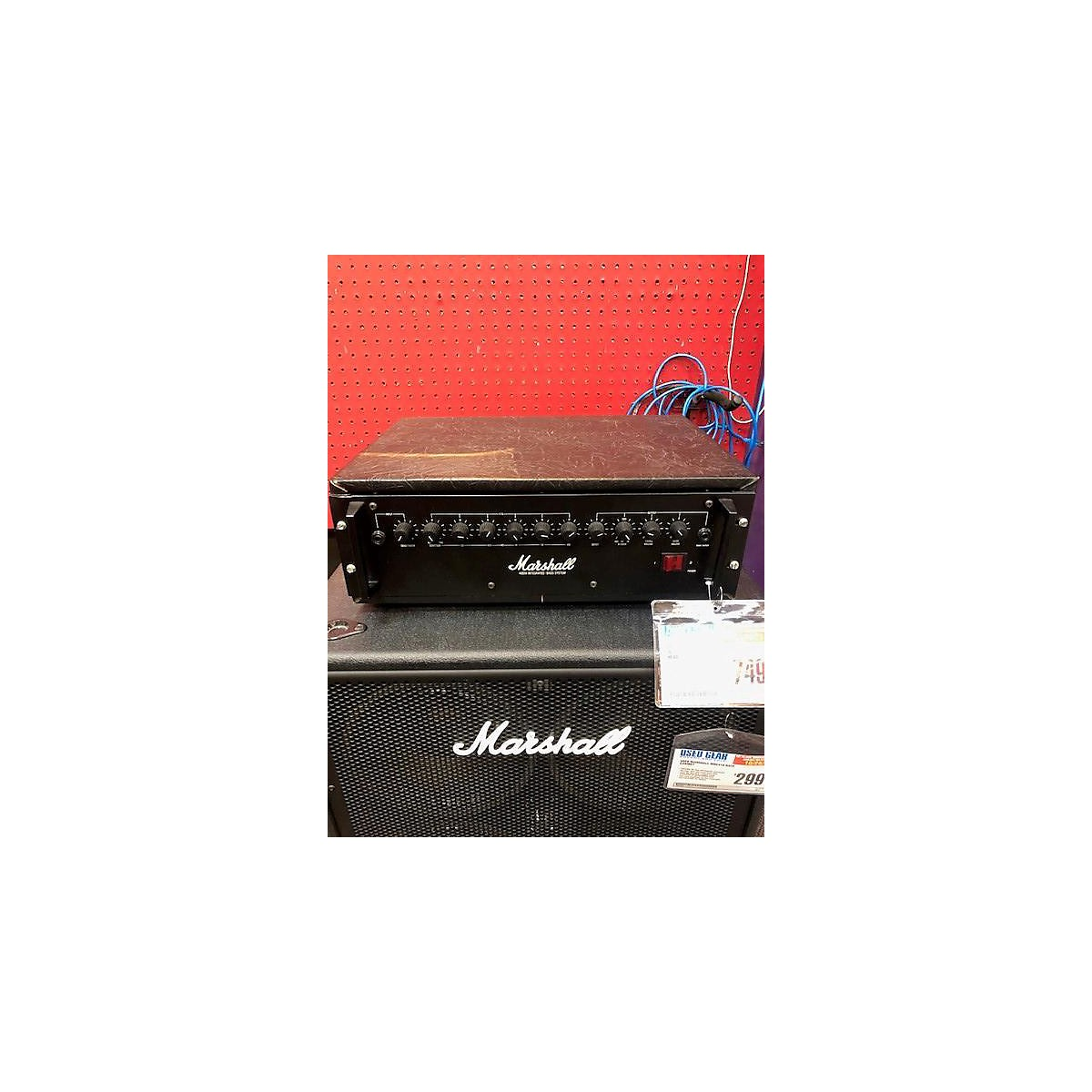 Marshall 400W INTEGRATED Tube Bass Amp Head