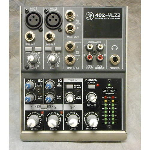Mackie 402VLZ3 Unpowered Mixer