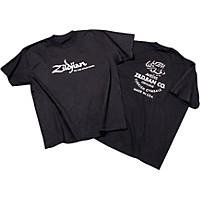 Zildjian Classic T-Shirt Black Xxx Large