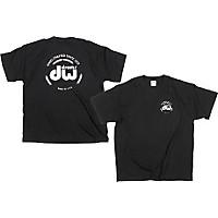 Dw Classic Logo T-Shirt Black Medium