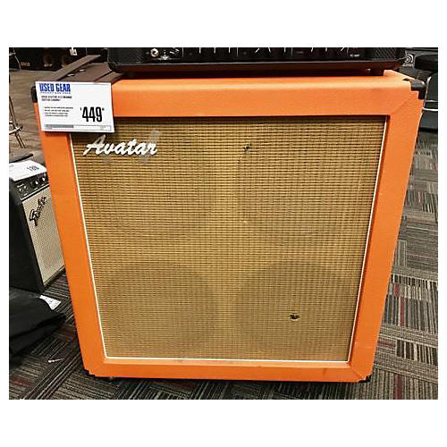 Avatar 412 Orange Guitar Cabinet