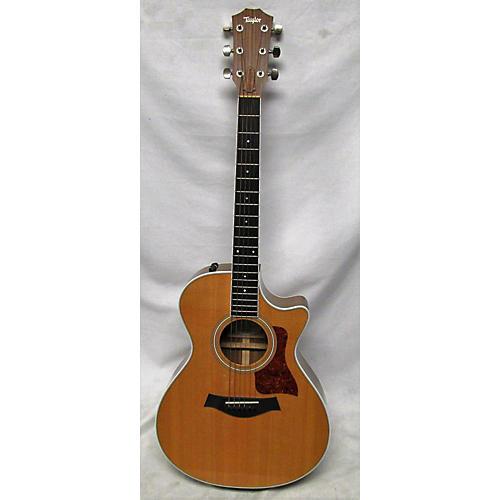 used taylor 412ce acoustic electric guitar natural guitar center. Black Bedroom Furniture Sets. Home Design Ideas