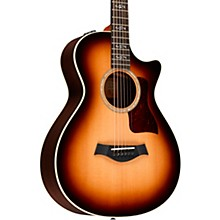 taylor 412ce 12 fret special edition grand concert acoustic electric guitar shaded edge burst. Black Bedroom Furniture Sets. Home Design Ideas