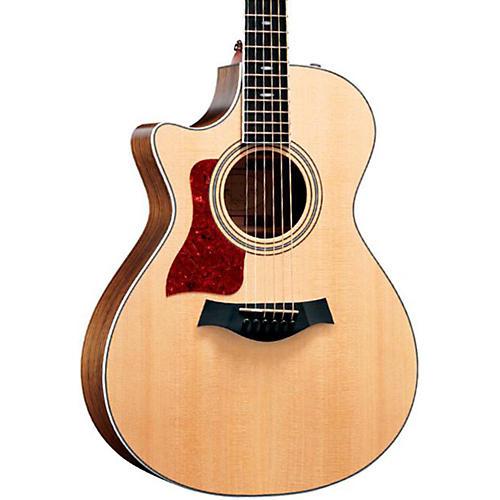 Taylor 412ce-L Ovangkol/Spruce Grand Concert Left-Handed Acoustic-Electric Guitar