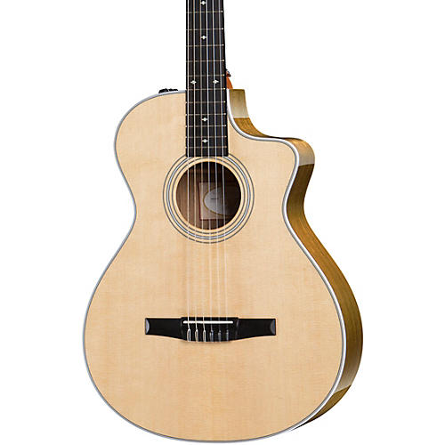Taylor 412ce-N Grand Concert Nylon String Acoustic-Electric Guitar