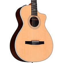 Taylor 412ce-N Rosewood Grand Concert Nylon String Acoustic-Electric Guitar Regular
