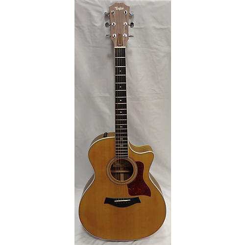 used taylor 414ce acoustic electric guitar natural guitar center. Black Bedroom Furniture Sets. Home Design Ideas