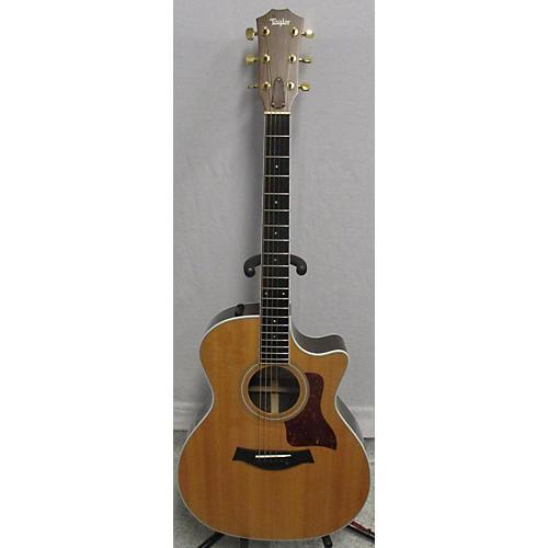 used taylor 414ce acoustic electric guitar natural guitar center. Black Bedroom Furniture Sets. Home Design Ideas