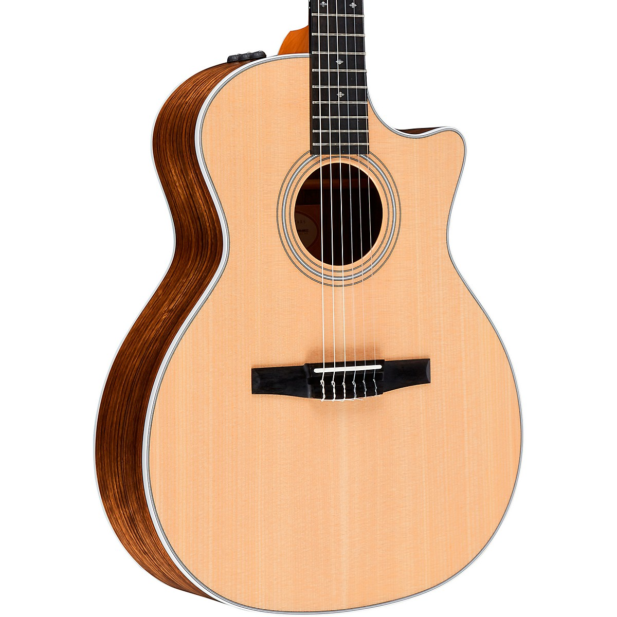 Taylor 414ce-N Grand Auditorium Nylon String Acoustic-Electric Guitar