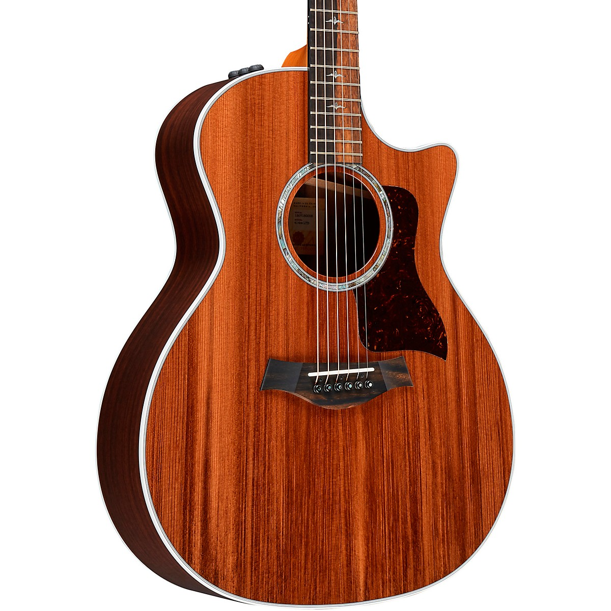 Taylor 414ce V-Class Limited-Edition Sinker Redwood Grand Auditorium Acoustic-Electric Guitar