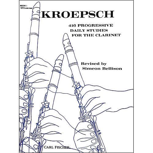 Carl Fischer 416 Progressive Daily Studies For The Clarinet