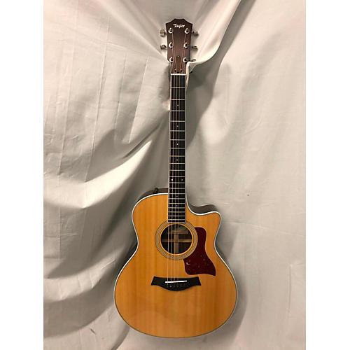 used taylor 416ce acoustic electric guitar natural guitar center. Black Bedroom Furniture Sets. Home Design Ideas