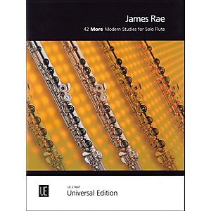 Carl Fischer 42 More Modern Studies for Solo Flute by Carl Fischer