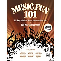 Alfred Music Fun 101 101 Reproducible Music Games And Puzzles