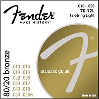 Fender 70-12L 80/20 Bronze 12-String  ...