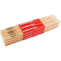 Goodwood 12-Pack Drumsticks 5A Nylon