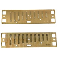 Lee Oskar Harmonic Minor Reed Plates  G Minor