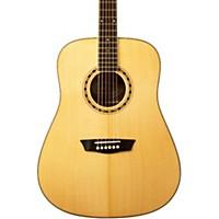 Washburn Wd 10S Dreadnought Acoustic Guitar Natural