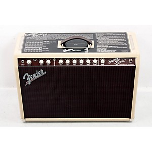 Fender Super-Sonic 60 60W 1X12 Tube Guitar Combo Amp Blonde 888365474205